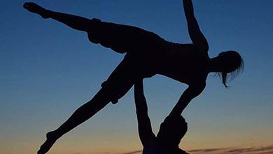 Acrobatisch dansen Jumping Spectacles