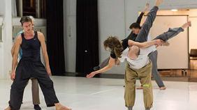 Dansles Contact-Improvisatie